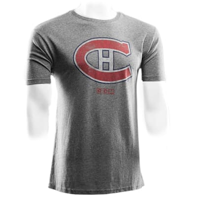 Montreal Canadiens (CCM Montreal Canadiens Heritage Logo Short Sleeve Tee - Mens)