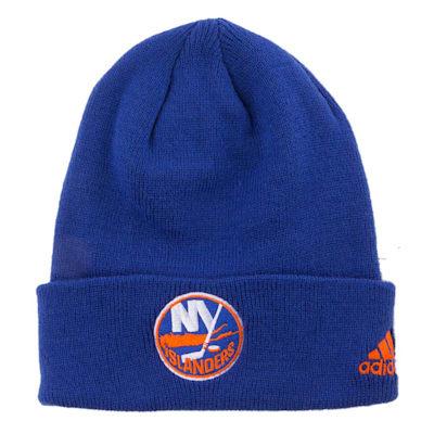 New York Islanders (Adidas Cuffed Knit New York Islanders Hat)