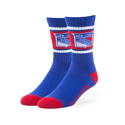 New York Rangers (47 Brand NHL Team Duster Crew Socks)