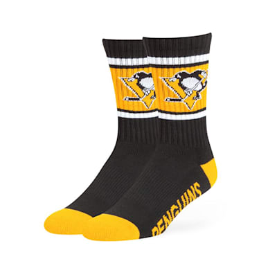 Pittsburgh Penguins (47 Brand NHL Team Duster Crew Socks)