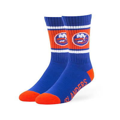 New York Islanders (47 Brand NHL Team Duster Crew Socks)