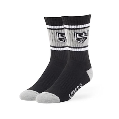 Los Angeles Kings (47 Brand NHL Team Duster Crew Socks)