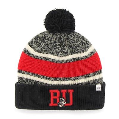 Front (47 Brand Boston University Fairfax Knit Hat - Adult)