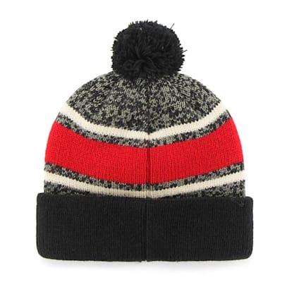 Back (47 Brand Boston University Fairfax Knit Hat - Adult)