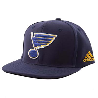 St. Louis Blues (Adidas Flat Brim Snapbacks Cap)
