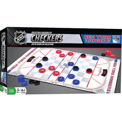 NHL Checkers Ny Rangers (MasterPieces NHL Checkers - NY Rangers)