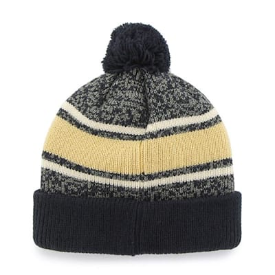 Back (47 Brand Notre Dame Fairfax Knit Hat - Adult)