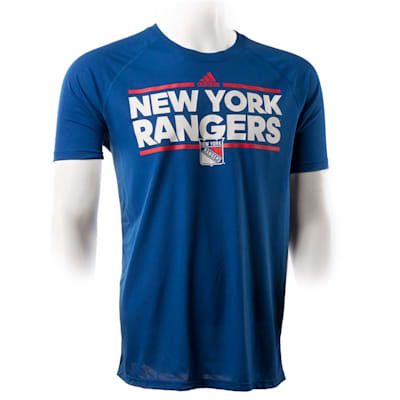 New York Rangers (Adidas New York Rangers Dassler Short Sleeve Tee - Mens)