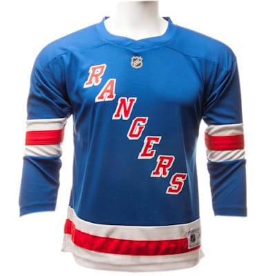 NY Rangers Yth Replica Jersey (Adidas New York Rangers Replica Jersey - Youth)