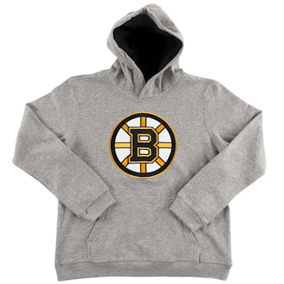 Boston Bruins (Adidas Boston Bruins Prime Basic Hoody - Youth)