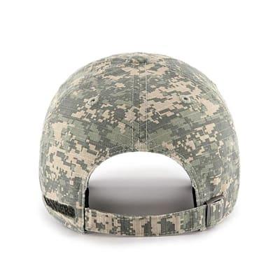 Back (47 Brand Rangers Camo Officer Cap)