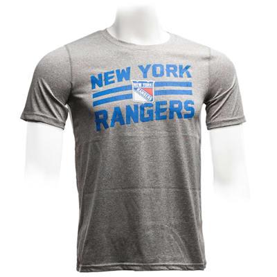 New York Rangers (Adidas Rangers Iced Through Performance Short Sleeve Tee - Youth)