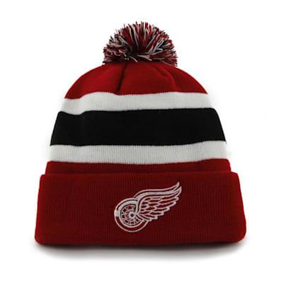 Front (47 Brand Red Wings Breakaway Knit Hat)