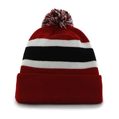 Back (47 Brand Red Wings Breakaway Knit Hat)
