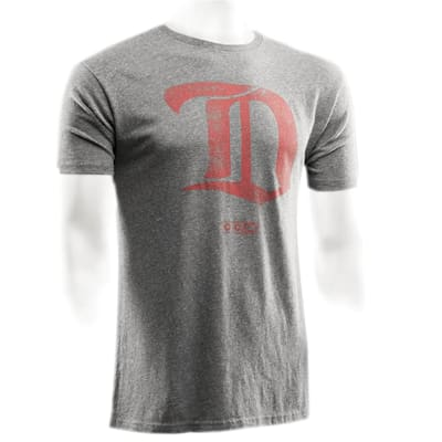 Front (CCM Detroit Red Wings Heritage Logo Short Sleeve Tee - Mens)