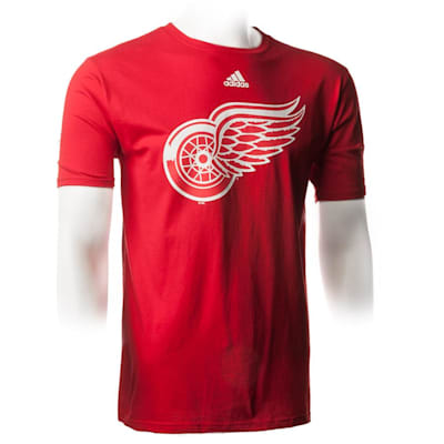 Red (Adidas Red Wings ShearSpeed Short Sleeve Tee - Mens)