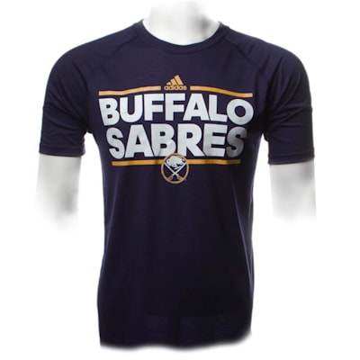 Sabres Dassler SS Tee (Adidas Buffalo Sabres Dassler Short Sleeve Tee - Mens)