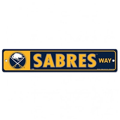 NHL Street Sign Sabres (Wincraft Buffalo Sabres Street Sign)