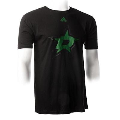 Black (Adidas Stars ShearSpeed  Short Sleeve Tee - Mens)