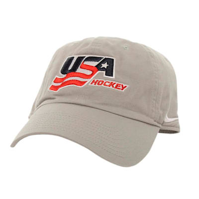 Front (Nike USA Hockey Adjustable RiNK Cap - Adult)
