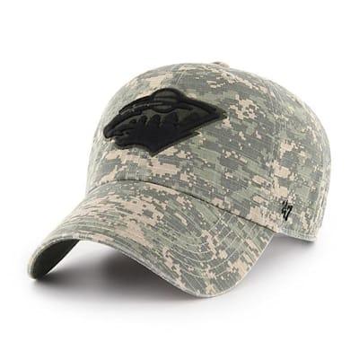 Front (47 Brand Wild Camo Officer Cap)
