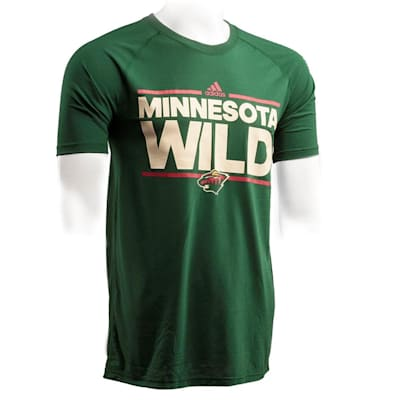 info for 78cc3 b8477 Adidas Minnesota Wild Dassler Short Sleeve Tee - Mens
