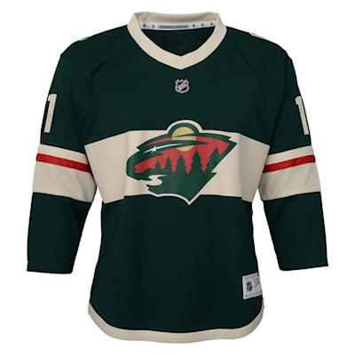 Front (Adidas Minnesota Wild Parise Jersey - Youth)