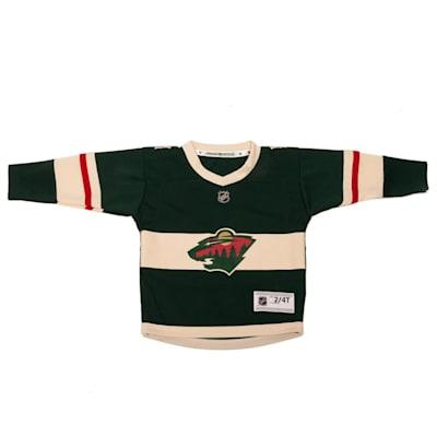 free shipping a4fbb d1981 Adidas Minnesota Wild Replica Jersey - Toddler | Pure Hockey ...