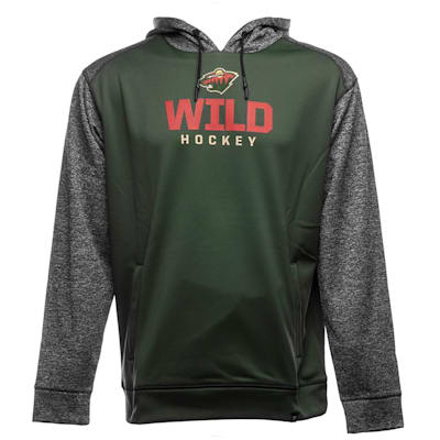 Front (Fanatics Minnesota Wild Static Fleece Hoody - Adult)