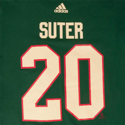 Wild Suter SS Tee (Adidas Minnesota Wild Suter Tee - Youth)