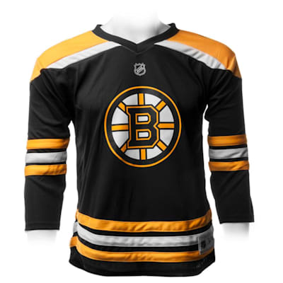 Boston Bruins Home (Adidas Boston Bruins Replica Jersey - Youth)