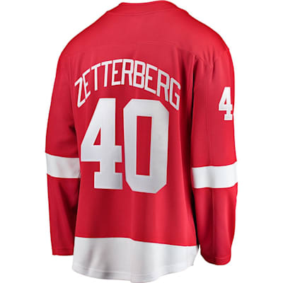 Henrik Zetterberg Home (Fanatics Red Wings Replica Jersey - Henrik Zetterberg - Adult)