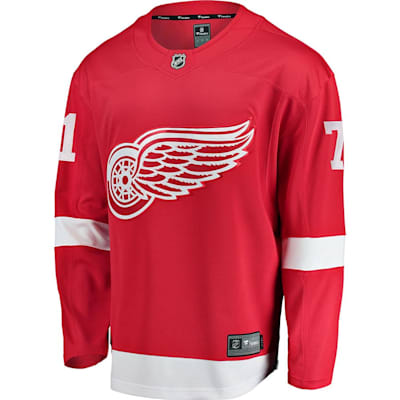 Dylan Larkin Front (Fanatics Red Wings Replica Jersey - Dylan Larkin - Adult)
