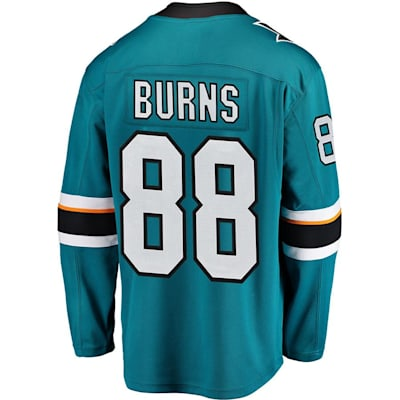 Brent Burns Home (Fanatics Sharks Replica Jersey - Brent Burns - Adult)