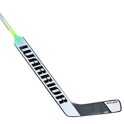 Silver/White (Warrior CR1 Composite Goalie Stick - Intermediate)