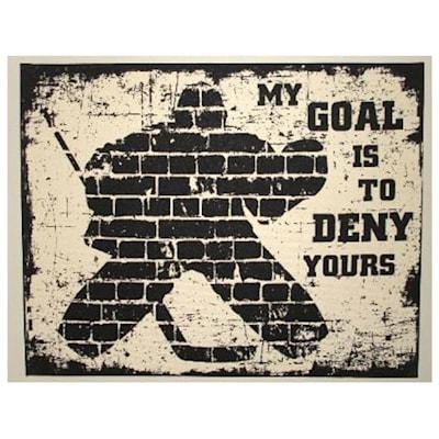 Goalie Canvas Print (Painted Pastimes Goalie Canvas Print (16x20))