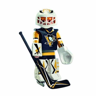 Pittsburgh Penguins Playmobil Goalie Figure (Playmobil Pittsburgh Penguins Goalie Figure)