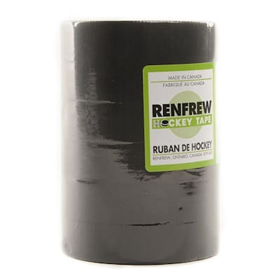 Black Cloth Tape 6 Pack (Renfrew Black Cloth Hockey Tape 6 Pack)
