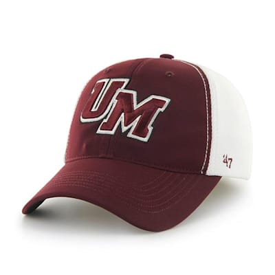DRAFT DAY CLOSER UMASS HAT - Front View (47 Brand Draft Day Closer Hockey Hat - University of Massachusetts - Adult)
