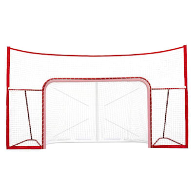 "Front View (USA Hockey 72"" Standalone Backstop - Backstop Only)"
