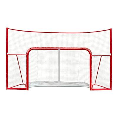 "Front View (USA Hockey 72"" Proform Goal w/ Backstop - Senior)"