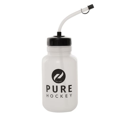 (Pure Hockey Straw Water Bottle)