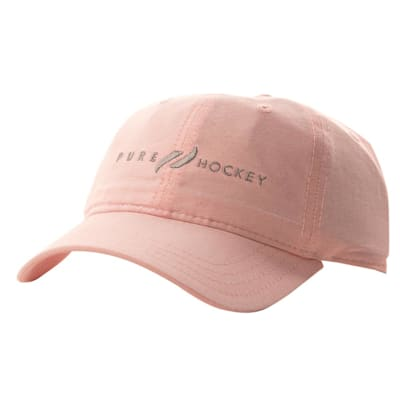 (Pure Hockey Women's Oxford Mango/White Strapback Hat - Womens)