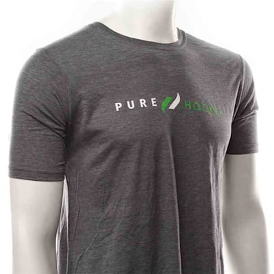 White/Lime (Pure Hockey Classic Indigo Tee - Adult)
