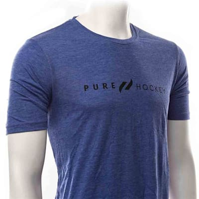 Black (Pure Hockey Classic Royal Tee - Adult)