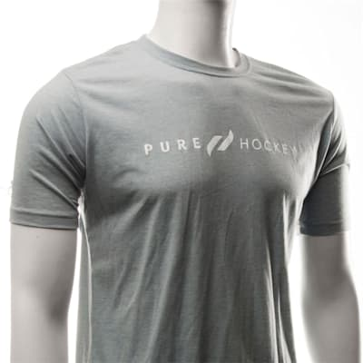 White/White (Pure Hockey Classic Stone Washed Denim Tee - Adult)