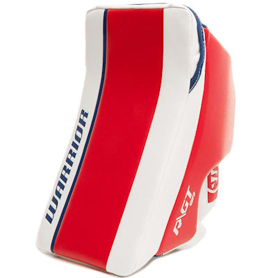 Red/White/Blue (Warrior Ritual GT Classic SE Goalie Blocker - Senior)