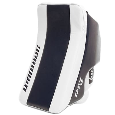 White/Navy (Warrior Ritual GT Classic SE Goalie Blocker - Senior)