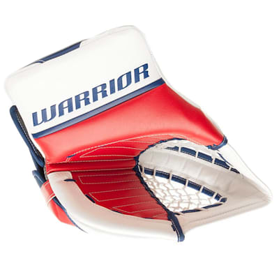 Red/White/Blue (Warrior Ritual GT Classic SE Goalie Catch Glove - Senior)