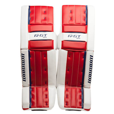 Red/White/Blue (Warrior Ritual GT Classic SE Goalie Leg Pads - Senior)
